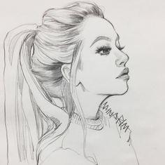 Secrets Of Drawing Realistic Pencil Portraits - Discover The Secrets Of Drawing Realistic Pencil Portraits Pencil Drawing Tutorials, Pencil Art Drawings, Realistic Drawings, Cool Drawings, Pencil Sketching, Girl Pencil Drawing, Drawings Of Faces, Pencil Sketch Tutorial, Anime Face Drawing