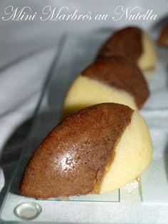 Mini marbrés au nutella - Dans vos assiettes