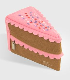 Slice of Cake Pouch. I'd be sold if it was edible.