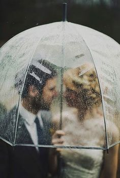 Rainy Wedding Photos | Brides.com