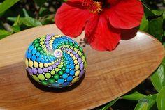 Image of Hand painted mandala sphere 12