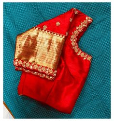 Cutwork Blouse Designs, Wedding Saree Blouse Designs, Pattu Saree Blouse Designs, Simple Blouse Designs, Stylish Blouse Design, Dress Designs, Blouse Patterns, Hand Work Blouse Design, Cut Work Blouse