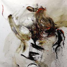 ewa hauton 150x140cm oil on canvas
