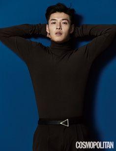 Kang Ha Neul poses for 'Cosmopolitan' magazine! Cosmopolitan Magazine, Instyle Magazine, Kang Haneul, Cute Asian Guys, How To Start Yoga, Korean Entertainment, Fashion Tag, Smiles And Laughs, Seong
