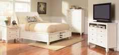 SANDY BEACH Queen Bedroom Set