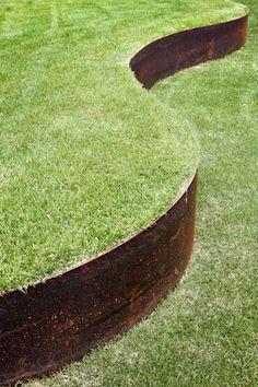 AMI industrie: tolerie fine metallerie - Bordures de jardin acier corten