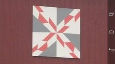 The hwy 60 barn quilt square