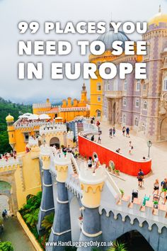 99 Places You Need To See In 8 Countries Across Europe