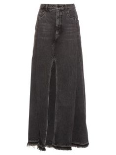 Denim maxi skirt | Alexander Wang | MATCHESFASHION.COM US
