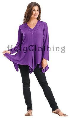 Shop Gabriella Tunic: http://holyclothing.com/index.php/gabriella-boho-chic-v-neck-asymmetrical-hem-embroidered-tunic-top.html?utm_source=Pin  #holyclothing #gabriella #tunic top #bohemian #gypsy #boho #renaissance #romantic #love #fashion #musthave