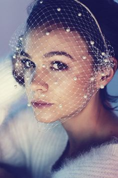 Gorgeous!! #vintage #style #CareyMullligan @BazaarUK #December #Editorial