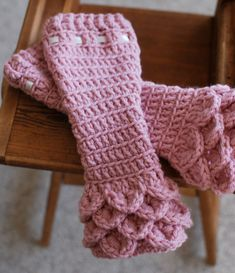 I wish I could make these!    Crochet Baby Leg Warmers Crocodile Stitch Pink by WillowWardrobe, $14.95