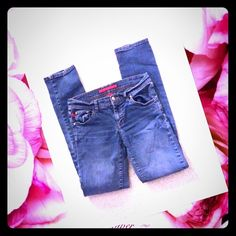 HOT SALE FIRE SKINNY JEANS  Very comfy.. Skinny jeans..worn few times Fire Los Angeles Jeans Skinny
