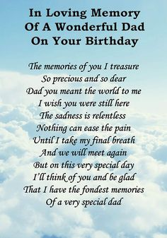 66 Ideas Happy Birthday Quotes For Dad Miss You Daddy Happy Heavenly Birthday Dad, Birthday In Heaven Daddy, Birthday In Heaven Quotes, Fathers Day In Heaven, Happy Birthday Quotes, Happy Birthday Daddy, Birthday Poems, Birthday Blessings, Birthday Images