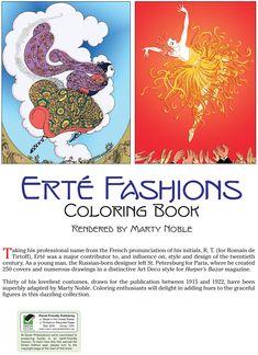 ert fashions coloring book httpstoredoverpublicationscom0486430413 - Html Color Sheet