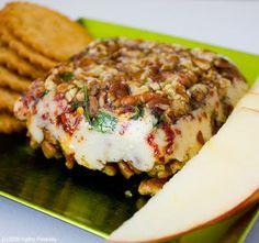 Vegan Appetizer: Nut Your Average Cheese Log!