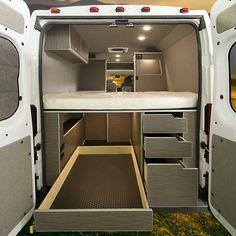 2018 Ram Promaster 136 High Roof Euro Wilderness Vans In 2020 Van Conversion Floor Plans Van Life Diy Camper Van Conversion Diy