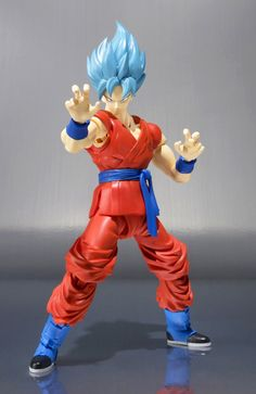 "Dragon Ball Z Resurrection ""F"" S.H. Figuarts SON GOKU Super Saiyan God SS Ed. Limitada"
