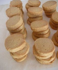 kinako and rice flour cookies