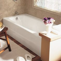 American Standard 2696202020 Spectra Left Hand Outlet Bath Tub with Comfortable Lumbar Support White -- Read more reviews of the product by visiting the link on the image. Note: It's an affiliate link to Amazon