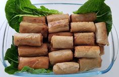 Filipino cooking with minced pork, carrots & onions Lumpia Shanghai, Some Recipe, Spring Rolls, Filipino, Onions, Love Food, Carrots, Sausage, Pork