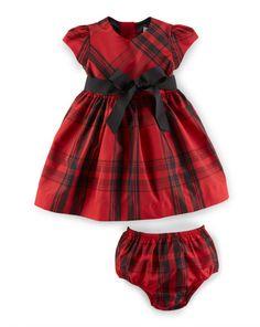 Fit-and-Flare Dress & Bloomer - Dresses & Skirts  Baby Girl (0-24 Months) - RalphLauren.com
