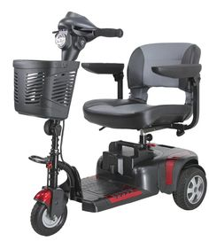 Phoenix HD 3-Wheeled Portable Mobility Scooter