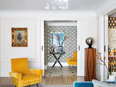 〚 Bold apartment of extravagant architect Jean Porsche in Madrid 〛 ◾ Photos ◾Ideas◾ Design Small Room Bedroom, Bedroom Colors, Contemporary Architecture, Architecture Design, Decor Interior Design, Interior Decorating, Apartment Interior, Elle Decor, Beautiful Interiors