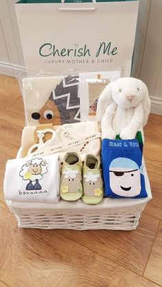 Cherish Me Dublin Baby Shower Hamper, Baby Gift Hampers, Unique Baby Gifts, Personalized Baby Gifts, Homemade Anniversary Gifts, Baby Changing Bags, Teen Girl Gifts, Birthday Gifts For Sister, Baby Comforter