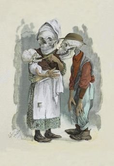 Frusius - Death in the Family Art Print. Explore our collection of Frusius fine art prints, giclees, posters and hand crafted canvas products Family Canvas, Family Print, Painting Prints, Fine Art Prints, Nursing Major, Vintage Halloween Images, Halloween Art, Jobs In Art, Canvas Art