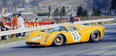 Ferrari 330 P3 Mairesse Beurlys - 1000 Km Spa 1967