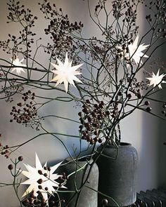 Herrnhuter paper stars are a classic of Christmas decorations. - Herrnhuter paper stars are a classic of Christmas decorations. They are most beautiful in plain whi - Winter Christmas, Christmas Home, Christmas Crafts, Merry Christmas, Apartment Christmas, Christmas Design, Outdoor Christmas, Homemade Christmas, Christmas Ideas