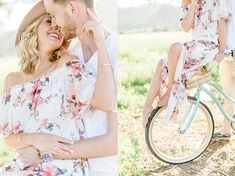 Whimsical Field Anniversary Session with Vintage Bike California Wedding, Southern California, Mini Sessions, Couple Shoot, Beautiful Moments, Engagement Couple, Couple Photography, Photo Ideas, Whimsical