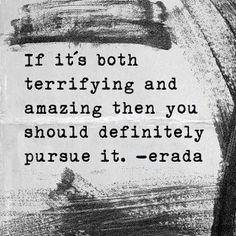 Follow ambitious pursuit