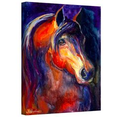 <li>Artist: Svetlana Novikova</li><li>Title: Arabian Horse</li><li>Product type: Gallery-wrapped canvas</li>