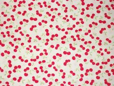 Cherry Fabric By The Yard Fabric Lakehouse by NeedlesnPinsStichery