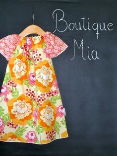 DIY kit for this cute dress by BoutiqueMiaAndMore