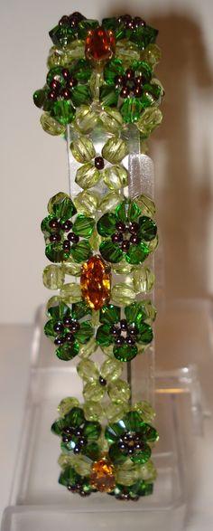Bracelets perles de Swarovski