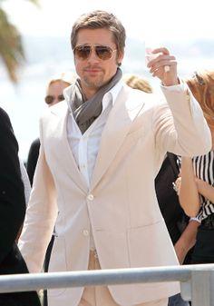 Even Brad Pitt wears ascots