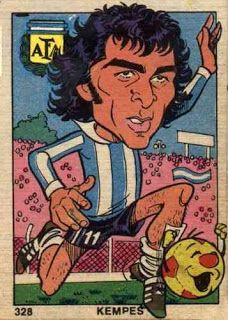 1976 Mario Kempes - Argentina