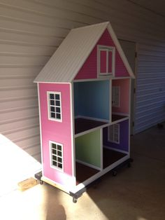 Doll House for 18 dolls like American Girl by MyDaughtersDollHouse