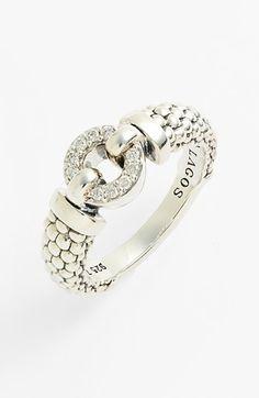 Lagos 'Enso' Diamond & Caviar™ Ring available at #Nordstrom
