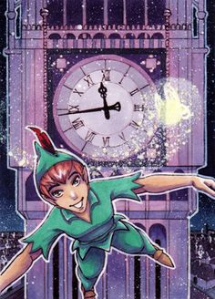 Peter Pan by ~Dreamless1987 on deviantART....ANIME PETER!!
