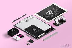 Propuesta de #imagencorporativa para Instituto Coreografico Paola Ponce 💃✨🕺 Pide presupuesto por mensaje o al cel. (686) 194 4627 💌📱 #claudiaramirez #graphicdesign #branding