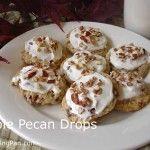 Maple Pecan Drops