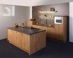 KeukenDeal - 60 - Nolte Manhattan Chalet - geheel compleet, inclusief Montage