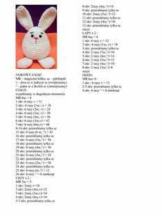 Best 12 Easter Bunnies Free Pattern and Video Tutorial – SkillOfKing.Little easter egg bunny done. Now writing up the pattern. Animal Knitting Patterns, Easter Crochet Patterns, Crochet Bunny Pattern, Crochet Rabbit, Crochet Amigurumi Free Patterns, Cute Crochet, Crochet Dolls, Crochet Baby, Easter Toys