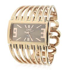 Women's Metal Band Analog Quartz Bracelet Watch With Rolling Beads Ornamentation(Golden) – RUB p. 519,63