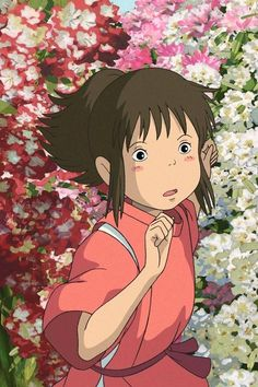 Studio ghibli,spirited away,hayao miyazaki Totoro, Studio Ghibli Art, Studio Ghibli Movies, Hayao Miyazaki, Girls Anime, Anime Art Girl, Spirited Away Wallpaper, Chihiro Y Haku, Studio Ghibli Spirited Away