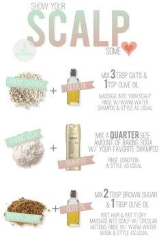 DIY Scalp Treatments
